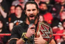 Seth Rollins en picada contra Lesnar