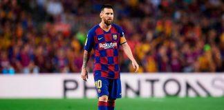 Barcelona sin Messi para juego contra el Inter de Milán