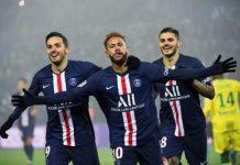 Neymar y Mbappé golean al Nantes
