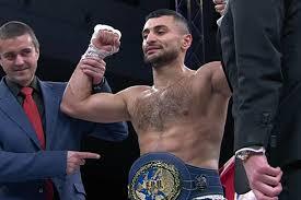 David Avanesyan expondrá su título en marzo