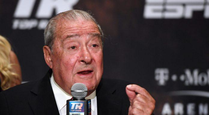 Bob Arum opina sobre la carrera de Crawford