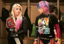 Alexa Bliss vs Asuka
