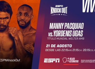 Manny Pacquiao vs. Yordenis Ugás