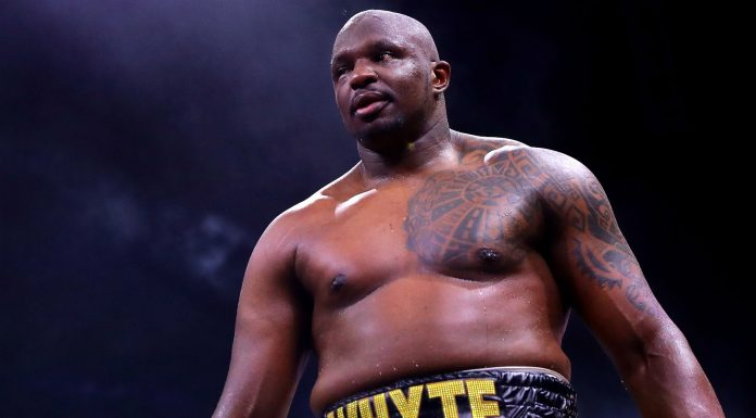 Dillian Whyte quiere el combate contra Tyson Fury